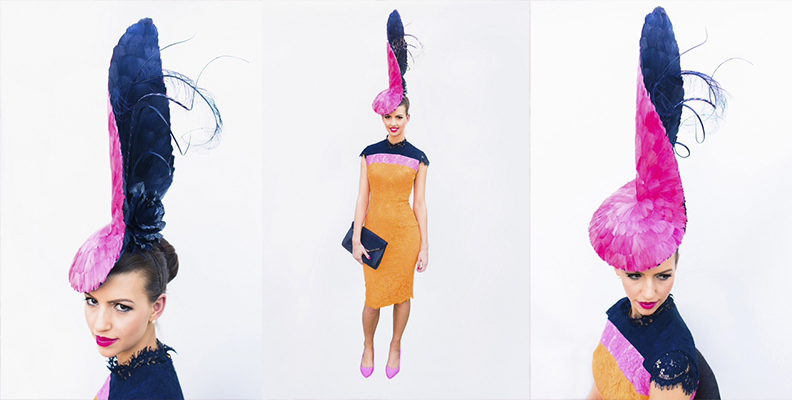 November 2014 – Finalist, Emirates Melbourne Cup Carnival Millinery Award